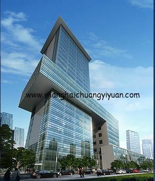 上海国际设计中心外观