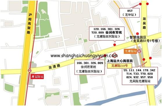 上海智慧线创意园交通图