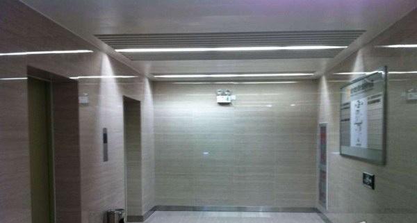 城市概念创意园办公楼电梯