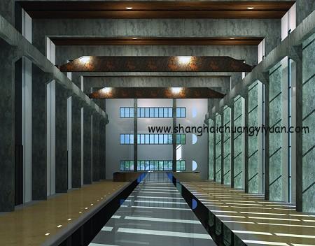 上海国际工业设计中心室内图