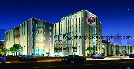 上海国际工业设计中心外观