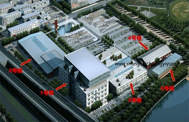 上海智力产业园一期各楼位置