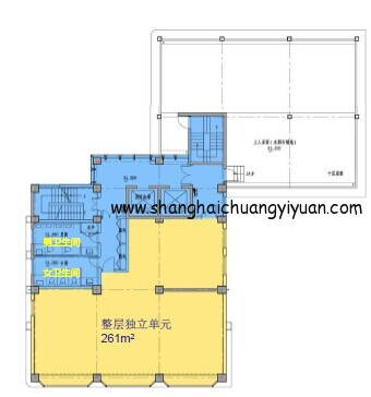 7立方科技文化创意园11楼平面图