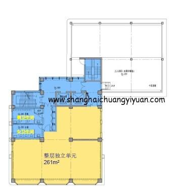 7立方科技文化创意园13楼平面图