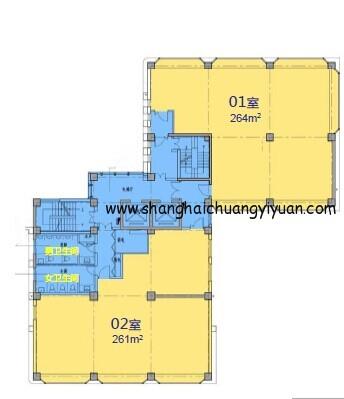 7立方科技文化创意园4楼平面图