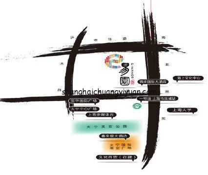大宁易园园区地理位置图