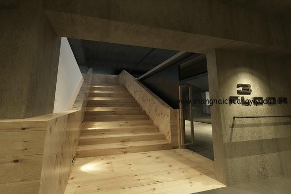 渡口空间楼梯部分空间