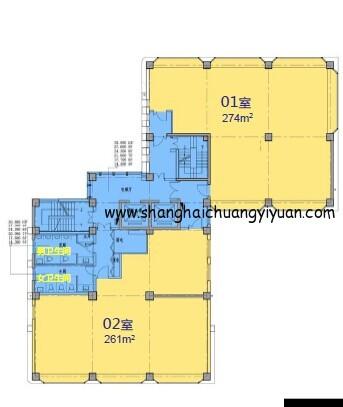 7立方科技文化创意园5-10楼平面图